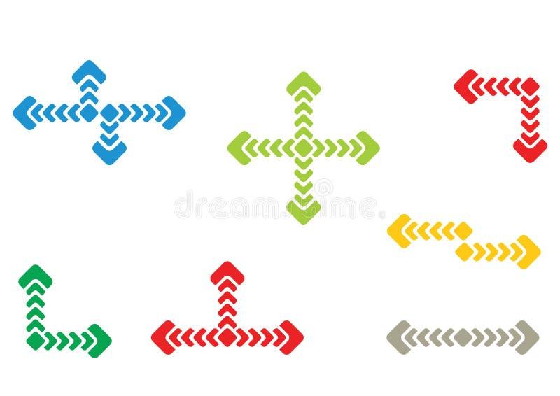 Het element van het stroomschema stock illustratie