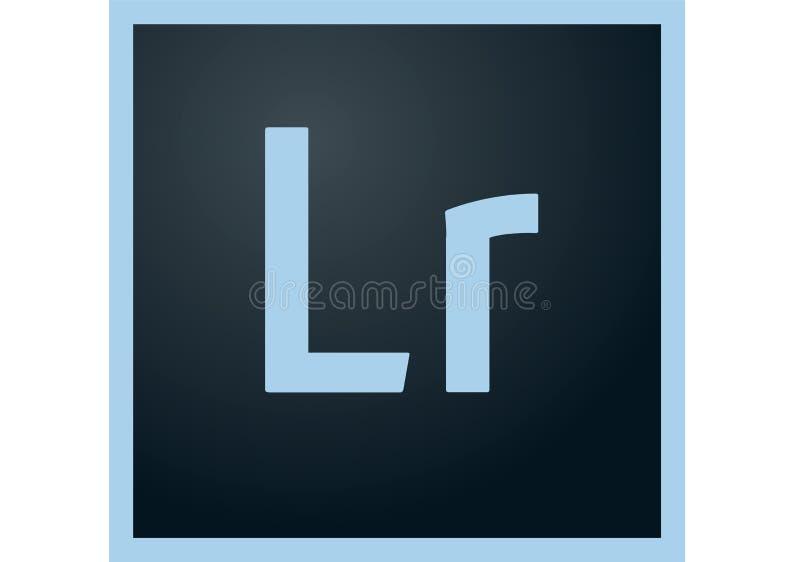 Het Embleem van Adobe Lightroom CC vector illustratie