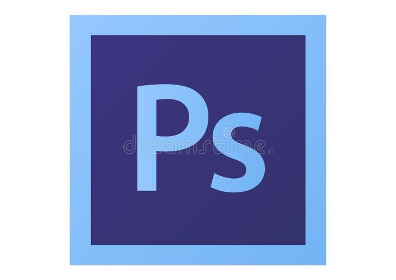 Het Embleem van Adobe Photoshop CS6 royalty-vrije illustratie