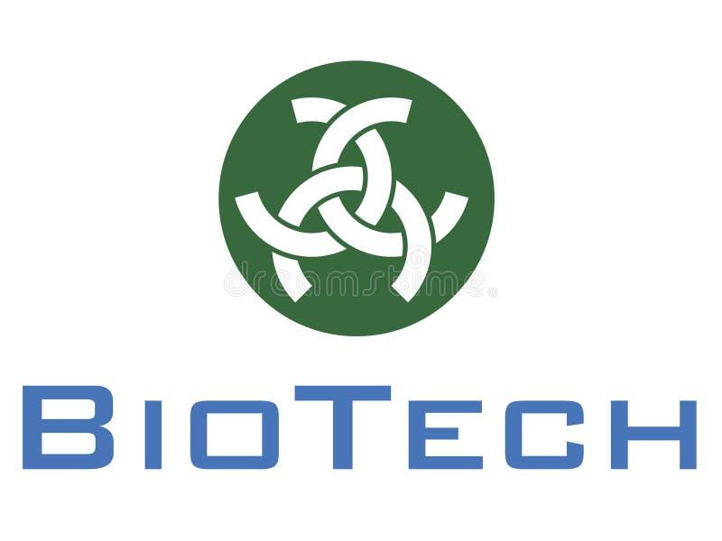 Het embleem van Biotech vector illustratie