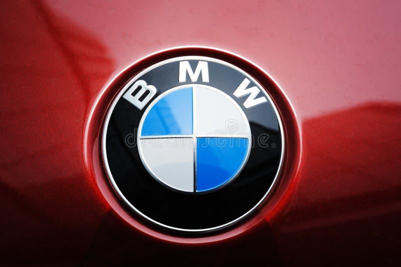Het embleem van BMW stock afbeelding