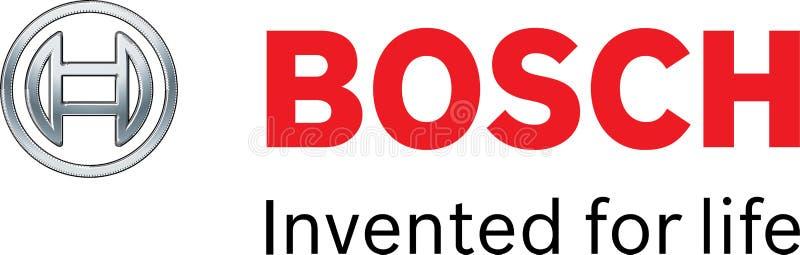 Het embleem van het Boschbedrijf vector illustratie