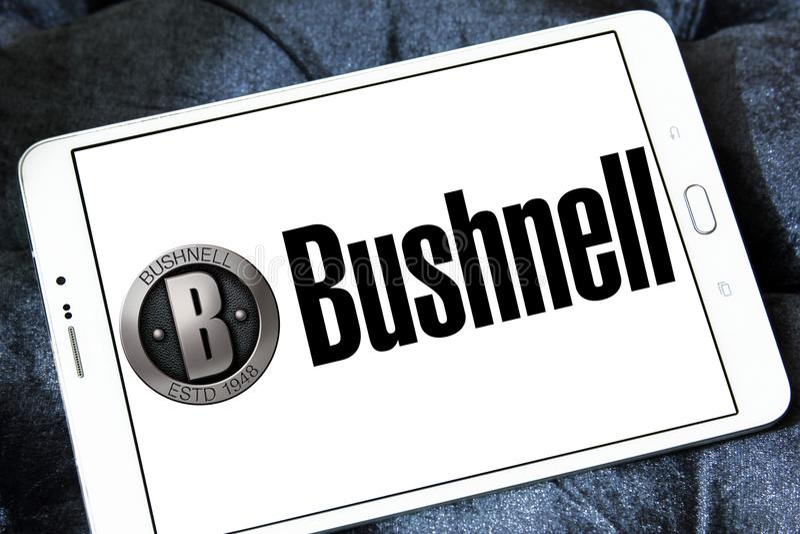 Het embleem van het Bushnellbedrijf stock afbeeldingen