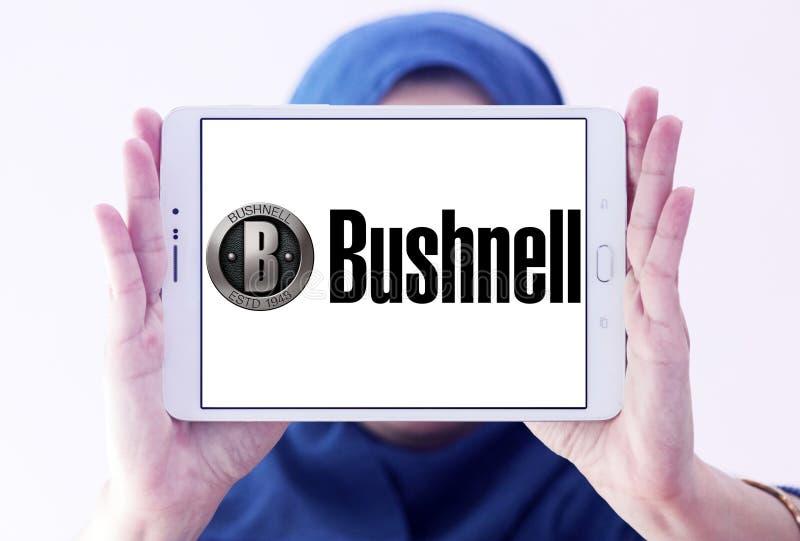Het embleem van het Bushnellbedrijf stock fotografie