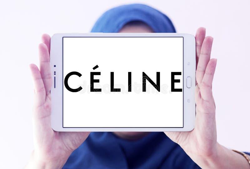 Het embleem van het Célinemerk stock foto's