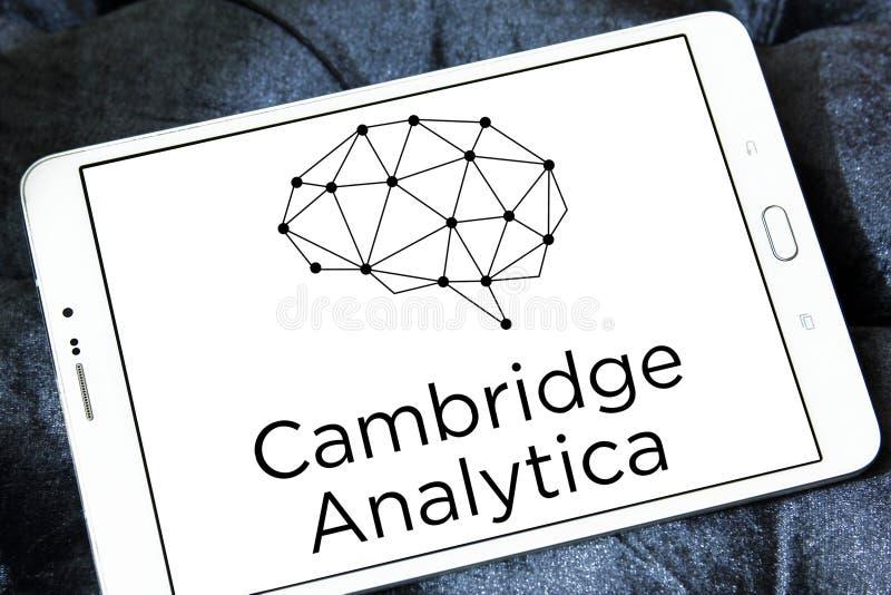 Het embleem van Cambridge Analytica royalty-vrije stock foto's