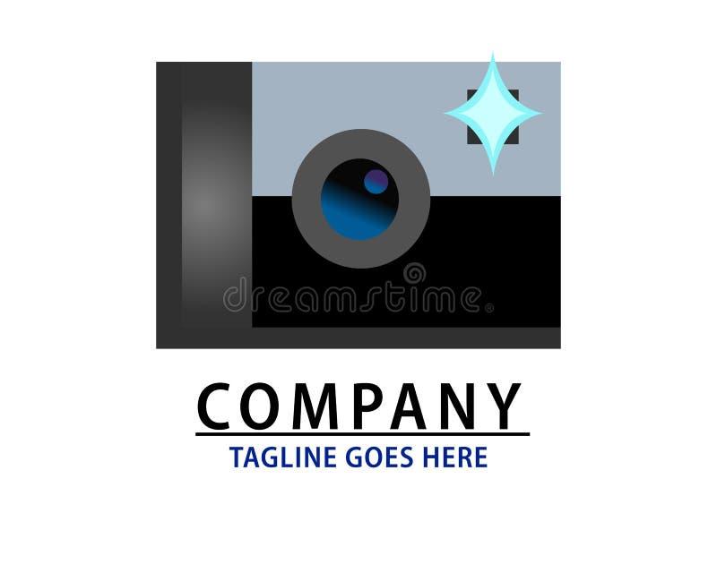 Het embleem van het camerabedrijf stock illustratie