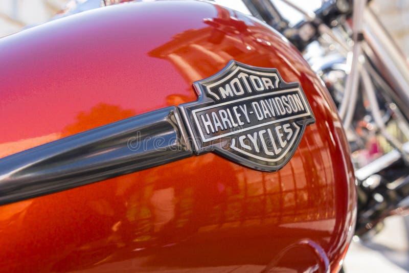 Het embleem van Davidson van Harley