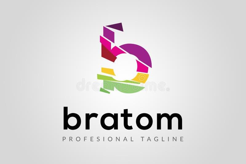 Het Embleem van de brief B stock afbeeldingen