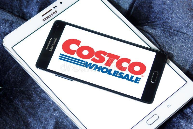 Het embleem van de Costcoopslag royalty-vrije stock afbeeldingen