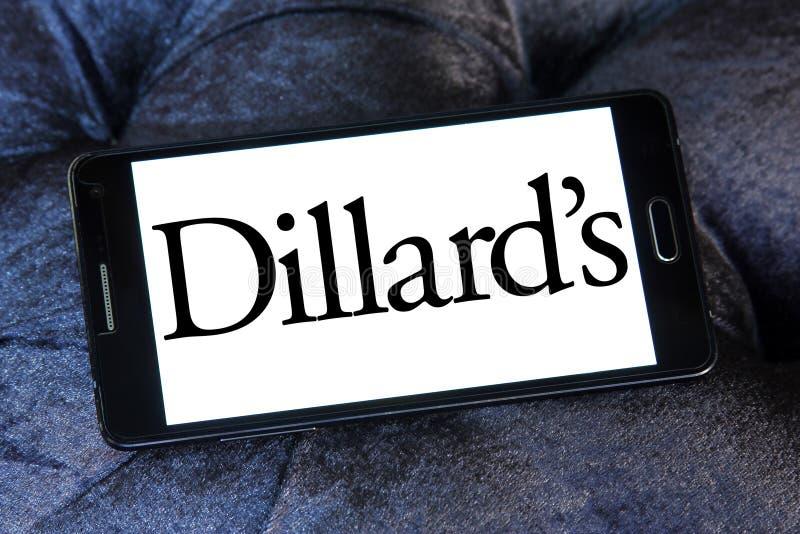 Het embleem van de Dillard` s detailhandelaar stock foto