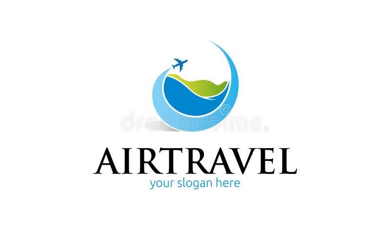 Het embleem van de luchtreis stock illustratie