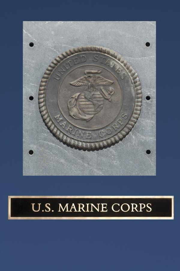 Het Embleem van de Marine van de V.S. stock foto's