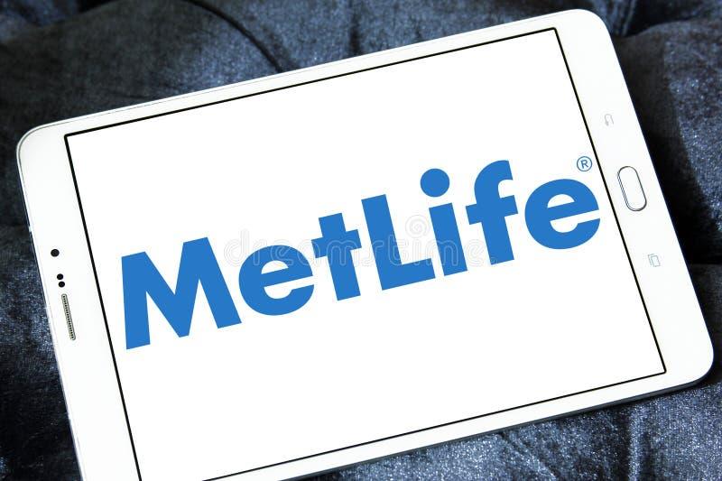 Het embleem van de Metlifeverzekering royalty-vrije stock afbeeldingen