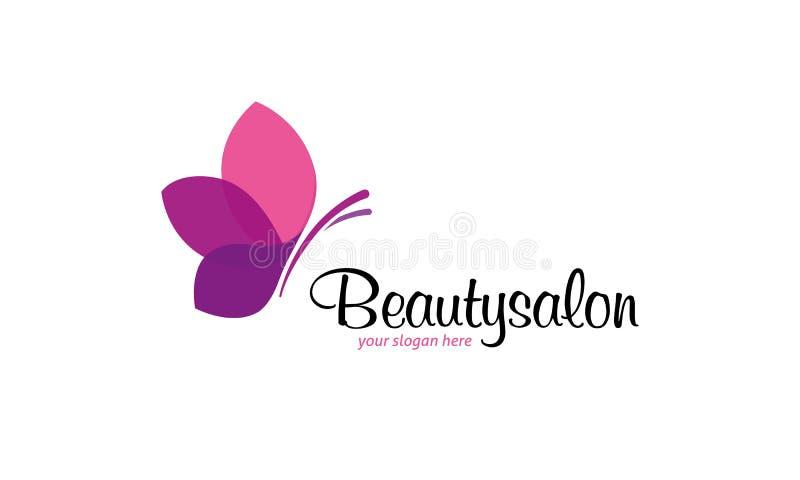 Het embleem van de schoonheidssalon vector illustratie