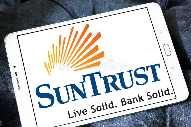 Het embleem van de SunTrustbank royalty-vrije stock fotografie