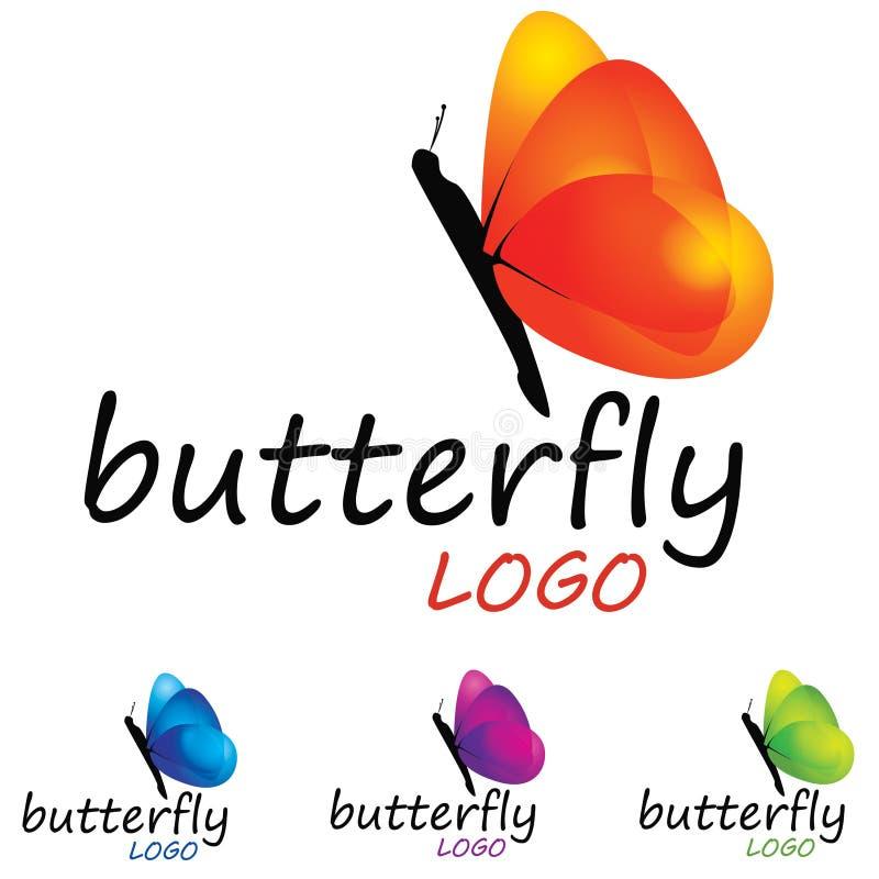 Het Embleem van de vlinder royalty-vrije illustratie