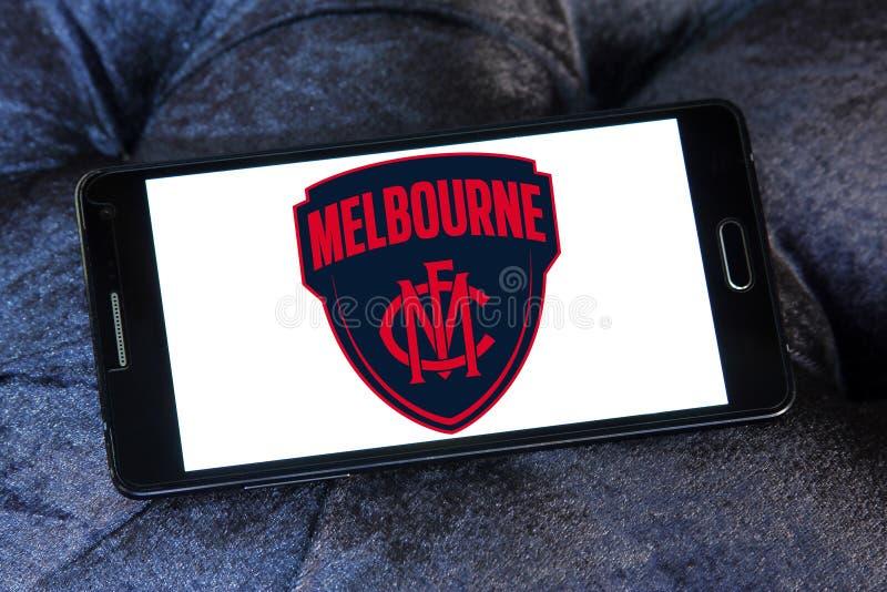 Het embleem van de de Voetbalclub van Melbourne stock foto's