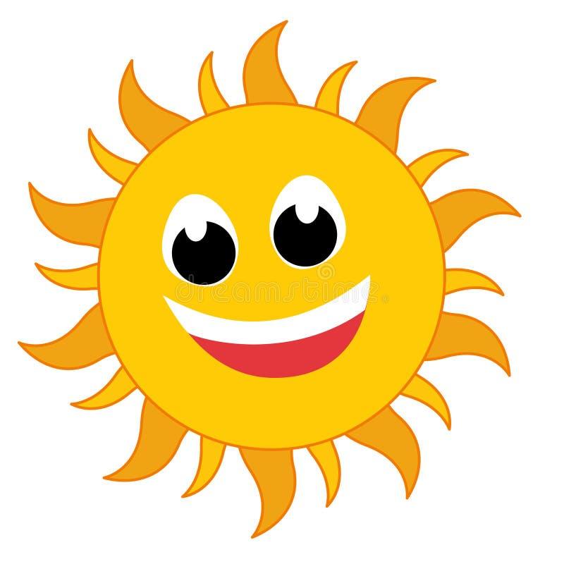Het embleem van de zon stock illustratie