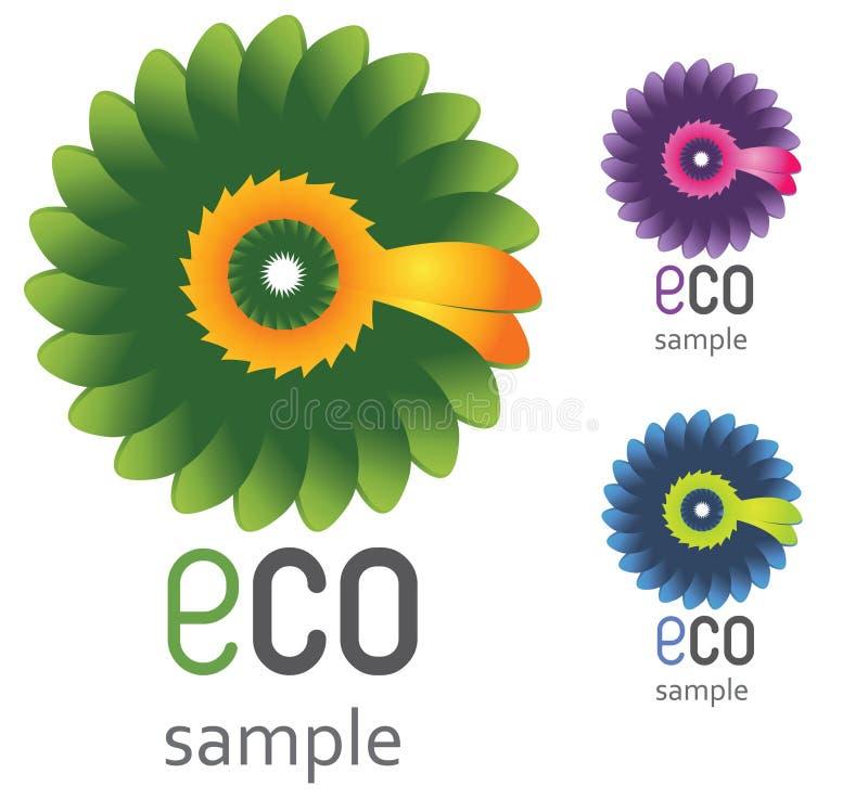 Het Embleem van Eco vector illustratie