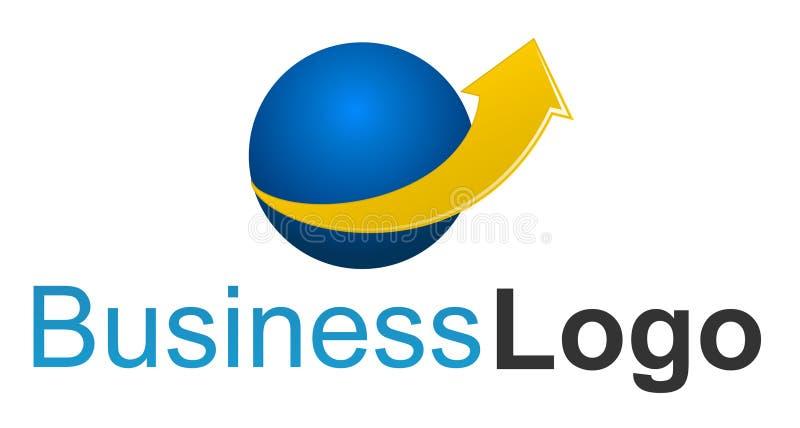 Het embleem van het bedrijf - financiën royalty-vrije stock afbeelding