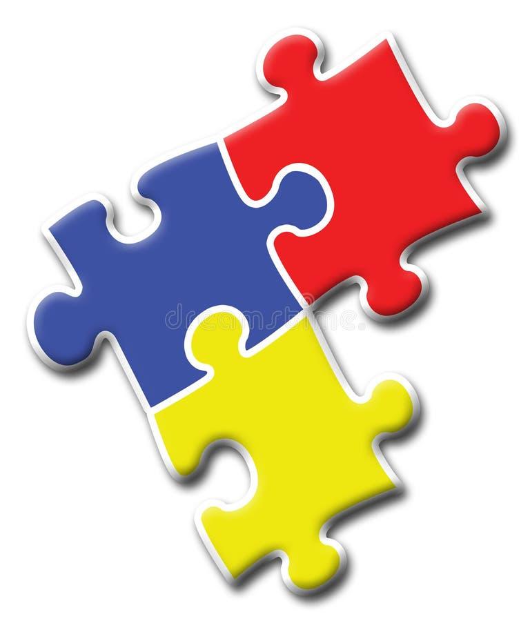 Het Embleem van het bedrijf - Raadsel 2 vector illustratie