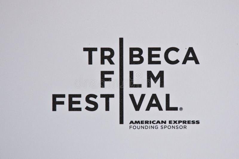 Het Embleem van het Festival van de Film van Tribeca royalty-vrije stock afbeeldingen