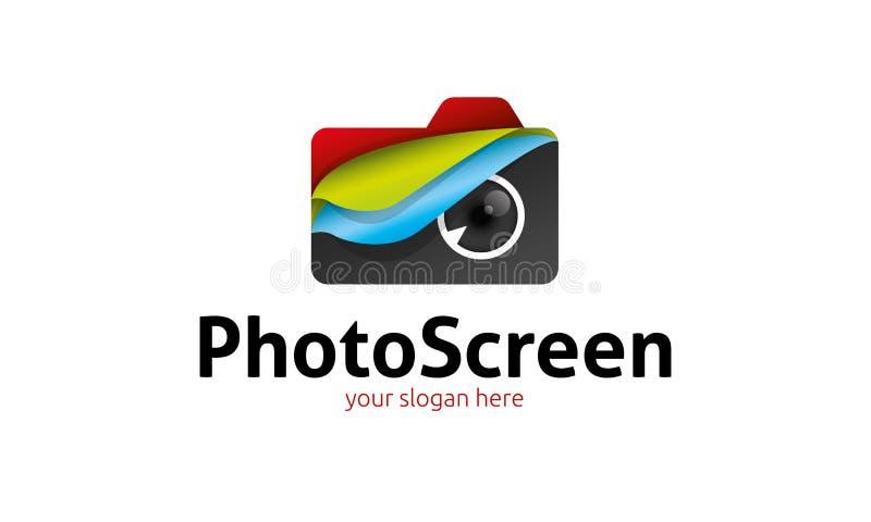 Het Embleem van het fotoscherm vector illustratie