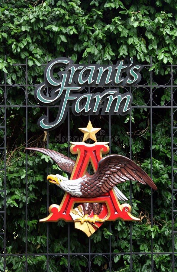 Het embleem van het Landbouwbedrijf van de toelage royalty-vrije stock afbeelding