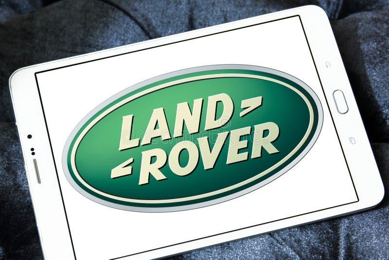 Het embleem van Land Rover stock foto's