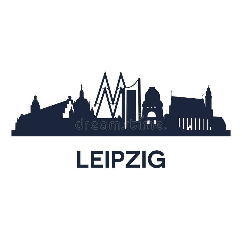 Het Embleem van Leipzig royalty-vrije illustratie