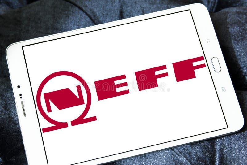 Het embleem van het Neffbedrijf stock afbeelding
