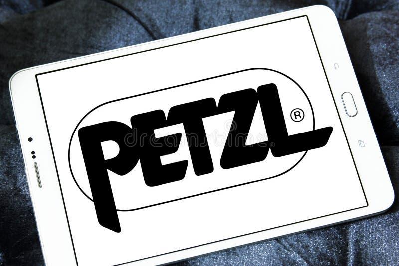 Het embleem van het Petzlbedrijf stock foto's