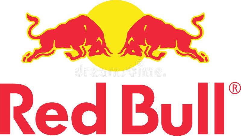 Het embleem van het Redbullbedrijf