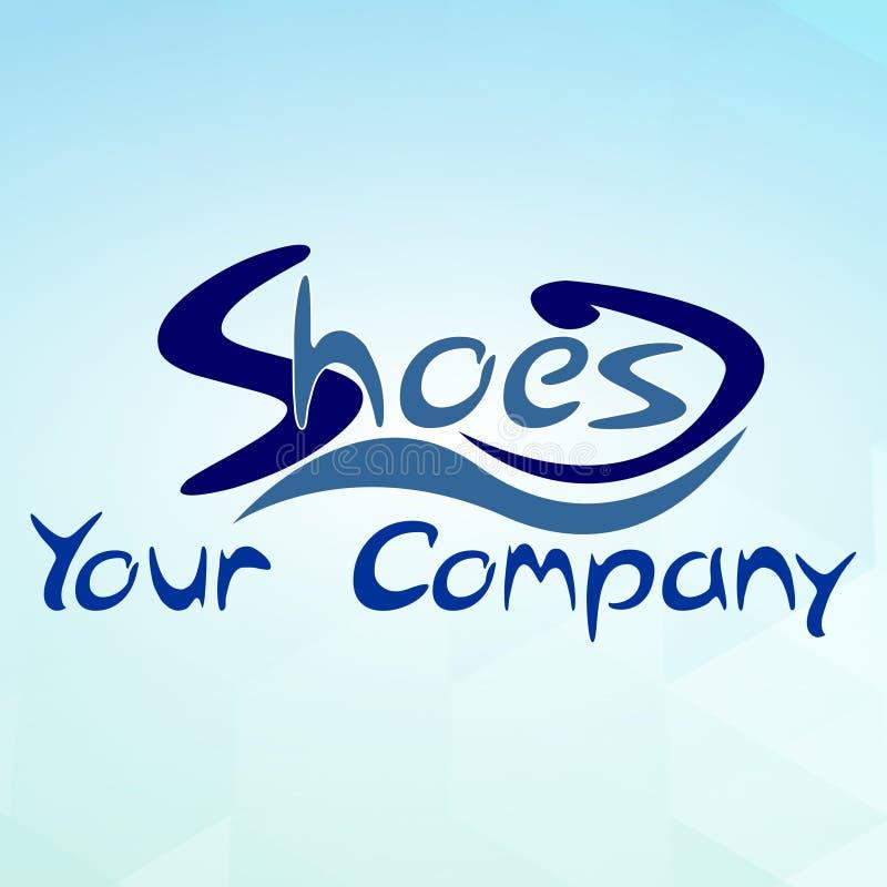 Het Embleem van het schoenbedrijf stock fotografie