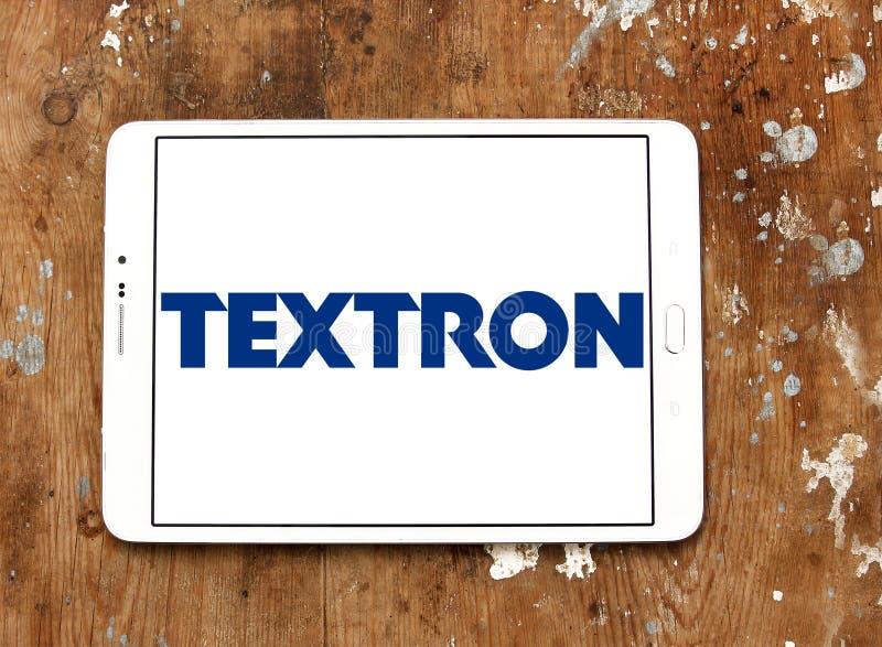 Het embleem van het Textronbedrijf royalty-vrije stock afbeeldingen