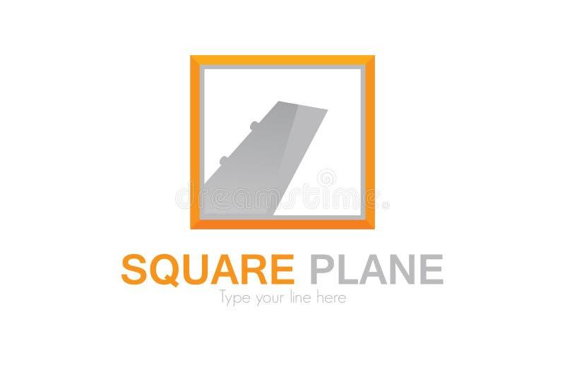 Het embleem van vliegtuigagnency royalty-vrije illustratie