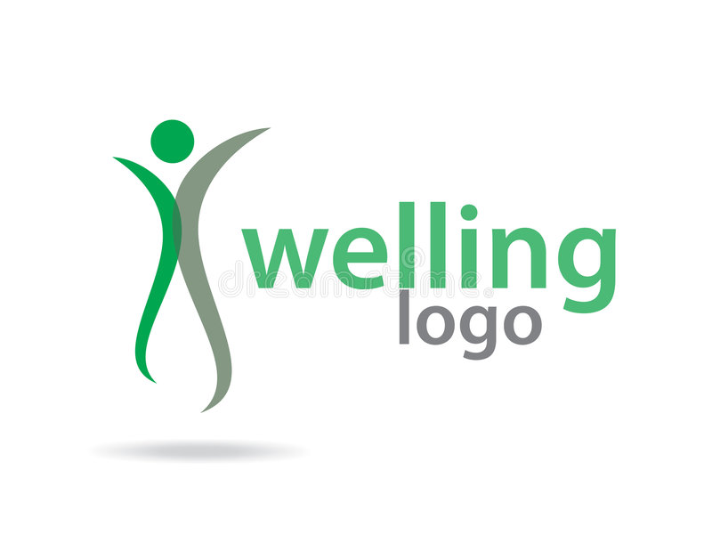 Het embleem van Welling stock illustratie