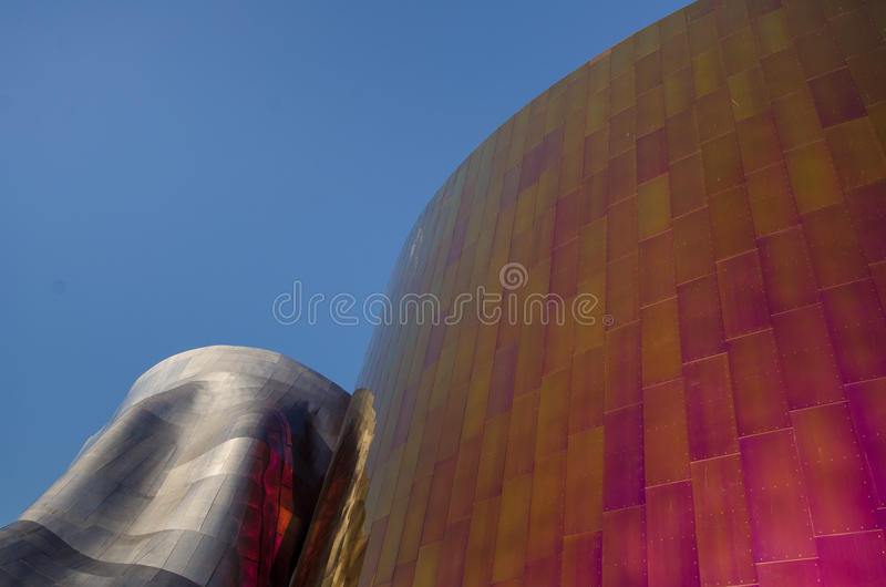 Het EMP Museum stock foto