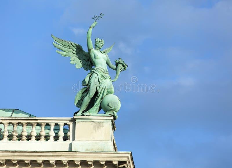 Het Engel-standbeeld in Wenen royalty-vrije stock fotografie