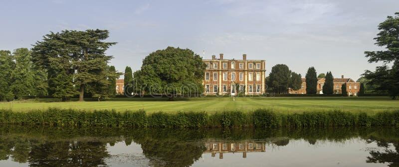 Het Engelse Landgoed Van Het Land Royalty-vrije Stock Fotografie