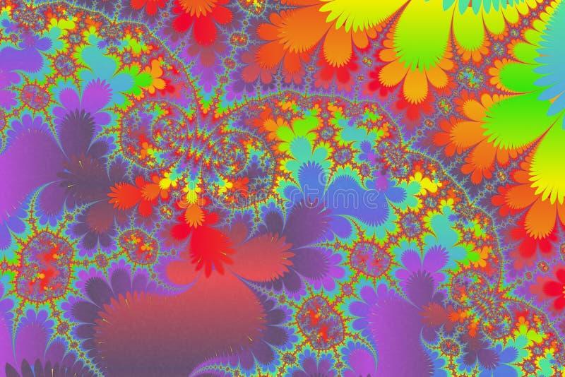 Het esoterische kunst mysterieus schilderen vector illustratie