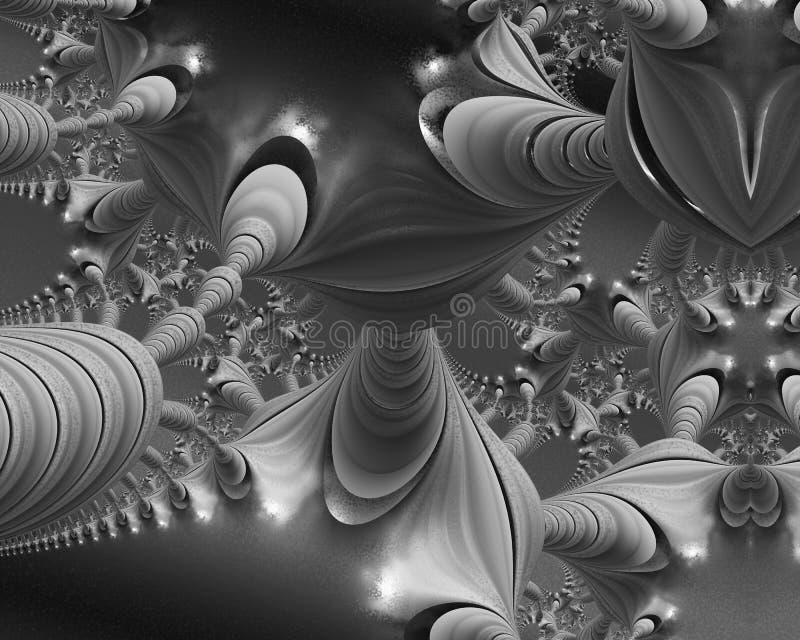 Het esoterische kunst mysterieus schilderen stock illustratie