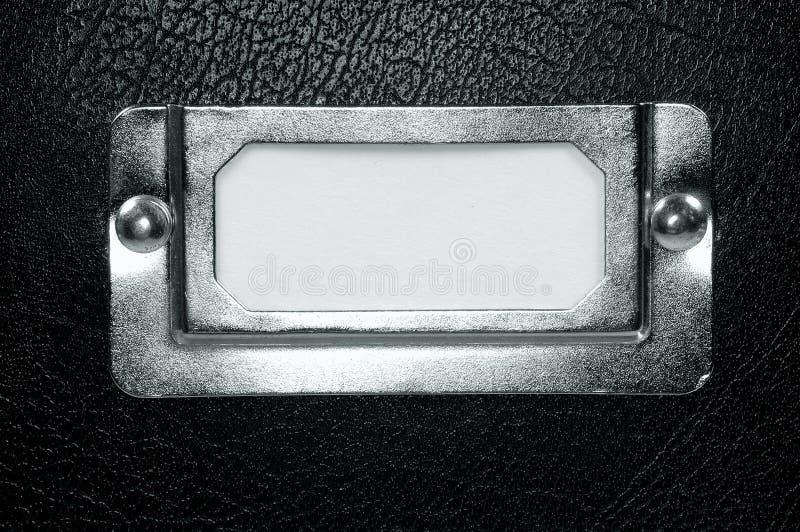 Het Etiket van de opslag stock foto's