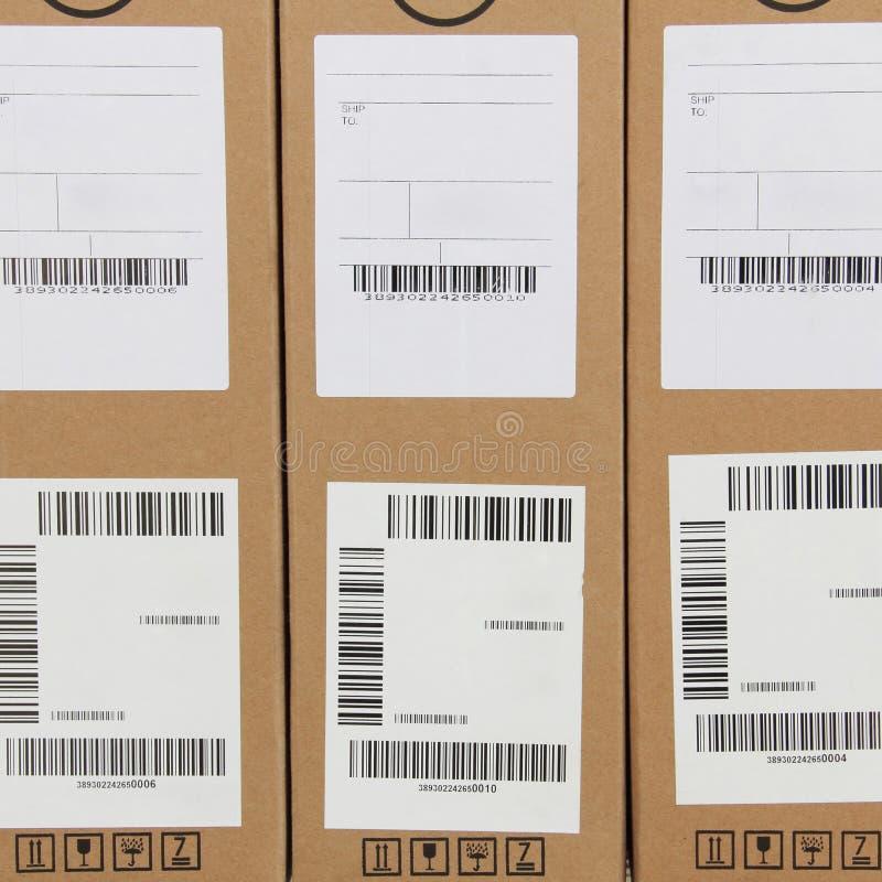 Het etiket van de streepjescode royalty-vrije stock foto's