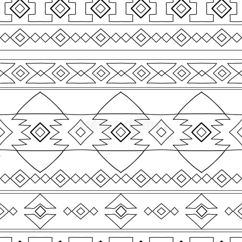 Het etnische patroon van Peru vector illustratie