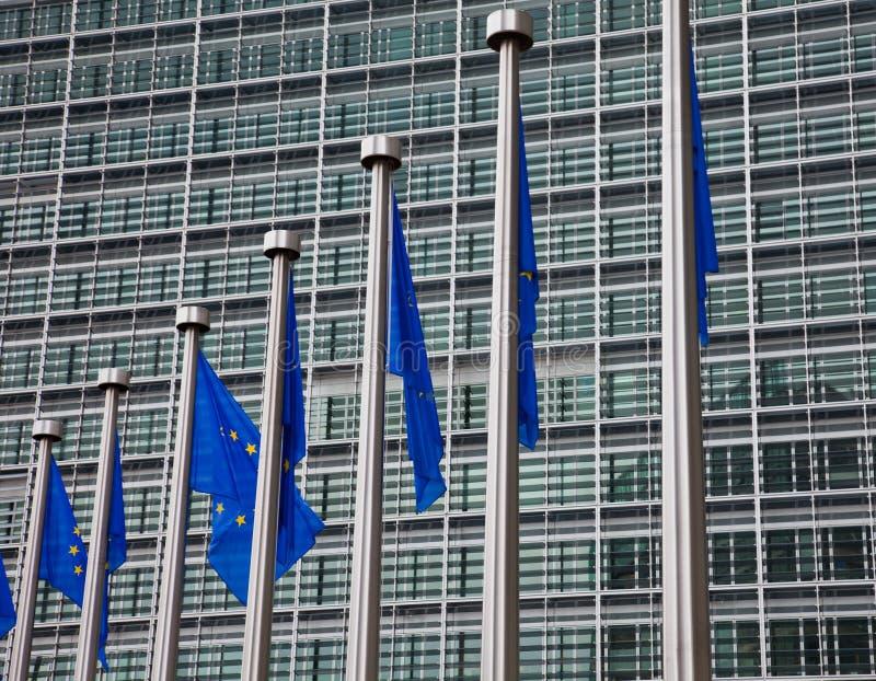 Het Europees Parlement. Brussel, België royalty-vrije stock afbeelding