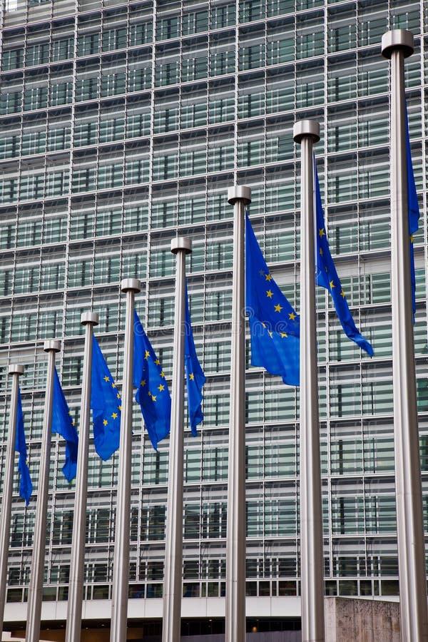 Het Europees Parlement. Brussel, België royalty-vrije stock afbeeldingen