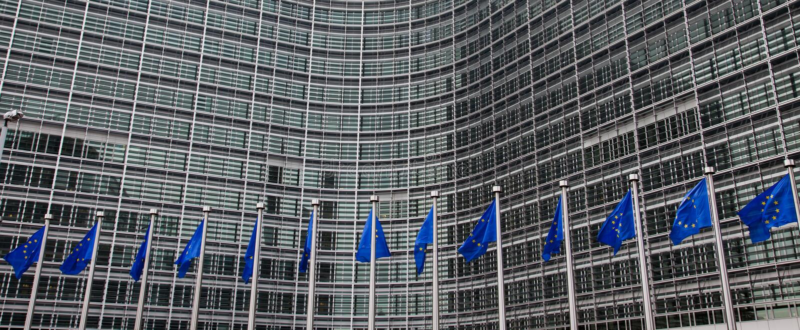 Het Europees Parlement. Brussel, België royalty-vrije stock foto's