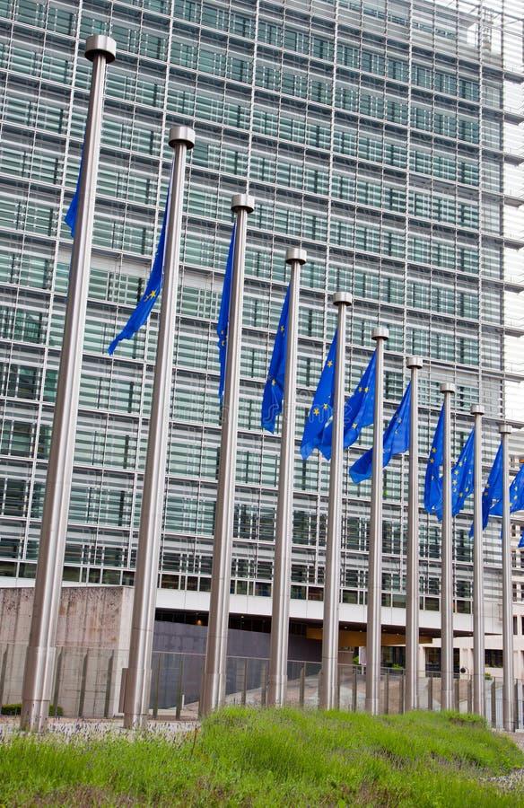 Het Europees Parlement. Brussel, België royalty-vrije stock fotografie